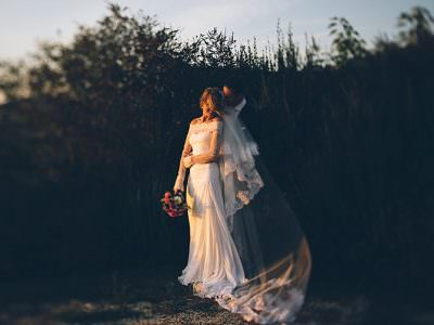 R&P intimate wedding in Val d'orcia