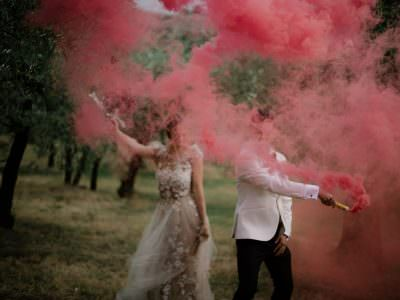 Hanna & Alex bohemian wedding