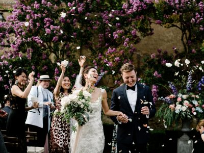 Inside an elegant destination wedding in Tuscany